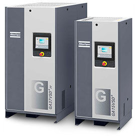 Tankless Variable Speed Rotary Screw Air Compressors
