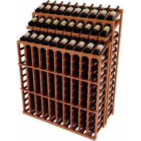 Wine Bottle Racks-Islands & Merchandisers-Solid Wood