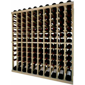 Individual Wine Bottle Racks W/ Lower Display-Solid Wood