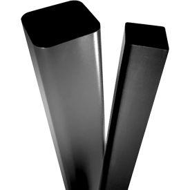 Square Straight Steel Poles