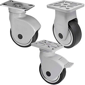 WMI® NSF Certified Sanitary Health Care Plate Casters
