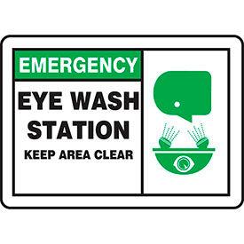 Accuform OSHA Emergency Eyewash & First Aid Signs
