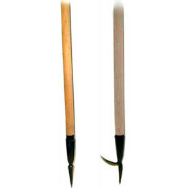 Hardwood Handle Log Lifting Pick Poles with Stainless Steel Pick