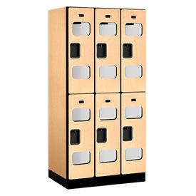 Salsbury See-Through Designer Wood Lockers