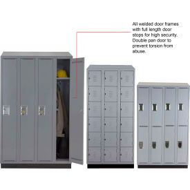 ALB Plus A Series Assembled Steel Lockers