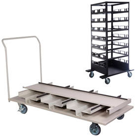 Stanchion Storage Carts