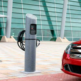 Electrical Vehicle Charging Station Bollards