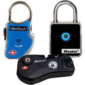 Bluetooth & NFC Smart Padlocks & Luggage Locks
