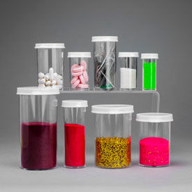 Plastic Vials and Tubes