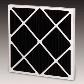 Global Industrial™ Carbon Pleated Standard Performance Air Filters