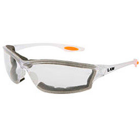 MCR Safety Foam Lined Safety Glasses