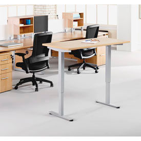 Lorell® Height Adjustable Tables