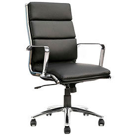 Storlie Leather Upholstered Office Chairs