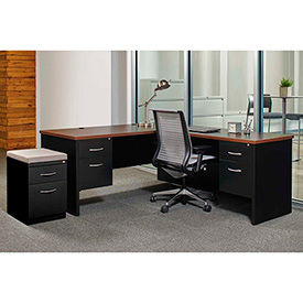 Hirsh Industries® Modular Steel Desks