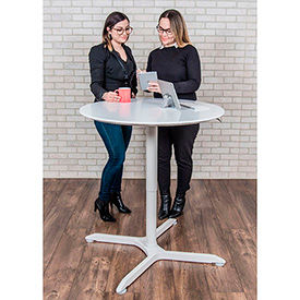 Luxor Height Adjustable Sit-Stand Café Tables