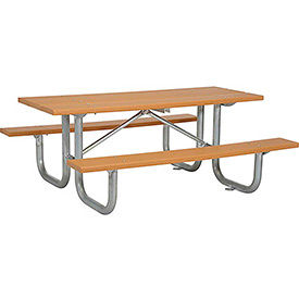 Picnic Tables PlasticRecycled Plastic GlobalIndustrialcom - Picnic table recycled plastic lumber