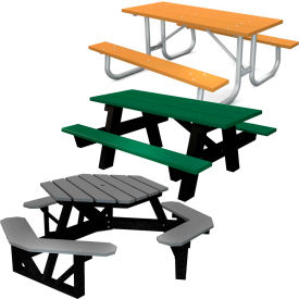 Global Industrial™ Recycled Plastic Picnic Tables