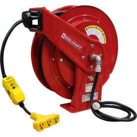Reelcraft™ HD Power Cord Reels- 75' & 100'