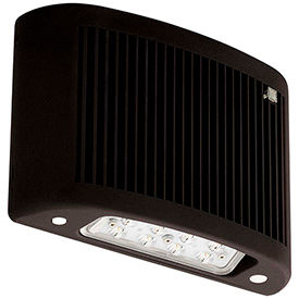 LED Wall Packs - with Emergency Lighting