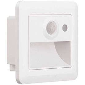 Recessed Wall-Mounted Emergency Lighting