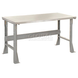 C-Channel Flared Leg Fixed Height Workbenches