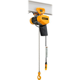 Harrington EQ Electric Chain Hoists With Push Trolley