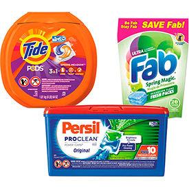 Detergent Pacs & Tablets