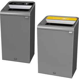 Rubbermaid® Configure Decorative Trash Cans