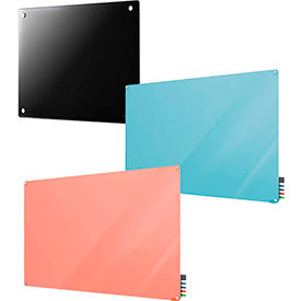 Colored Glass Dry Erase Boards