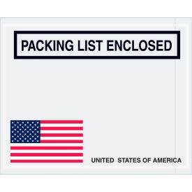 Packing List Envelopes - USA