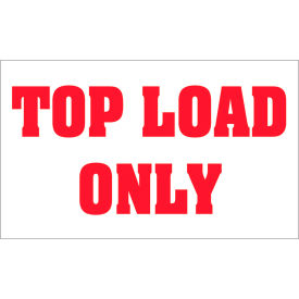 Top Load - Labels