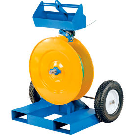 Heavy-Duty Banding Cart with Fork Pockets