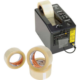 Electric Tape Dispenser with FREE Case of Tape