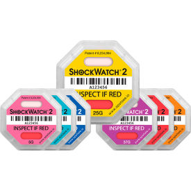 ShockWatch® 2 Impact Indicators