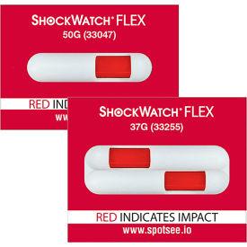 ShockWatch® Flex Impact Indicators