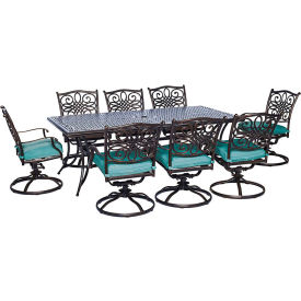 9 Piece Table and Chair Sets