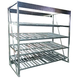 Galvanized Gravity Flow Racks 96