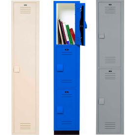 Bradley Lenox Plastic Lockers