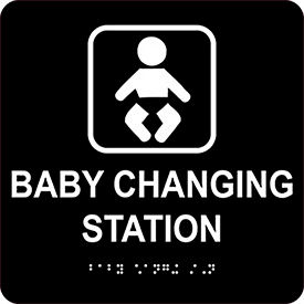 Baby Changing Station Signs