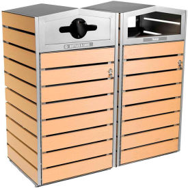 Commercial Zone Woodview™ Series Waste Containers