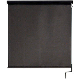 Cordless Outdoor Sun Shade With Protective Valance