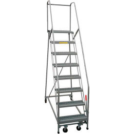 P.W. Platforms Steel Rolling Ladders