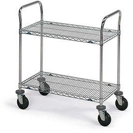 Metro® Super Erecta® Stainless Steel Wire Shelf Carts