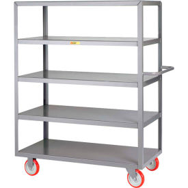Little Giant® 5-Shelf Service Carts