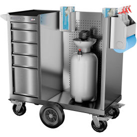 Industrial Sanitization Carts