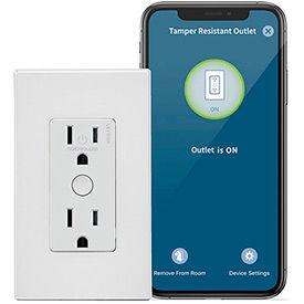 Smart WiFi Receptacles