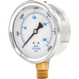 PIC Gauges Glycerine Filled Pressure Gauges