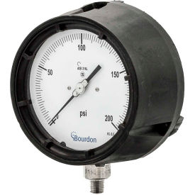 Bourdon Process Industrial Gauges