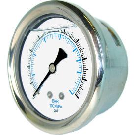 PIC Gauges Stainless Steel Glycerine Filled Pressure Gauges