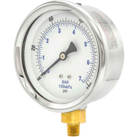 PIC Gauges Stainless Steel Pressure Gauges